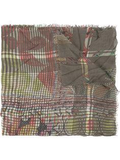 шарф с принтом  Faliero Sarti