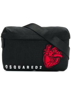 сумка через плечо с заплаткой  Dsquared2