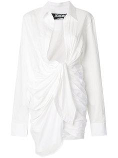 рубашка с запахом  Jacquemus