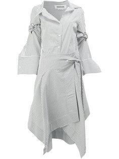 платье-рубашка в полоску  Monse