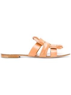 сандалии с дизайном с ремешками Morobé