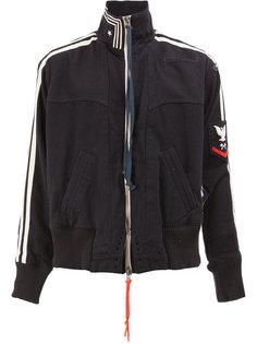спортивная куртка с полосами Greg Lauren