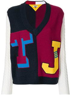 свитер в университетском стиле  Tommy Hilfiger