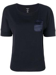 футболка с карманом на груди  Marc Cain