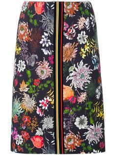 юбка с цветочным принтом  Marc Cain