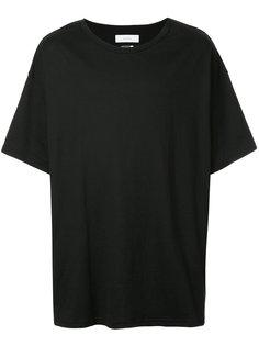 футболка с нашивкой в полоску Facetasm