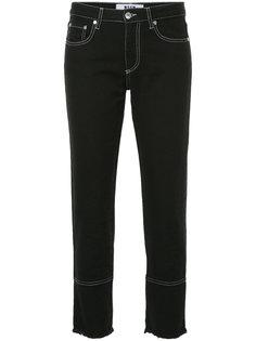 укороченные джинсы слим  MSGM