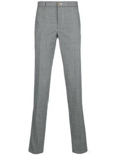 прямые брюки в клетку гингем Comme Des Garçons Homme Plus