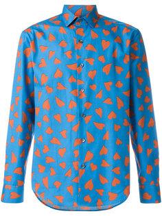 рубашка с принтом сердец JW Anderson