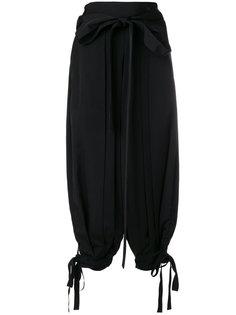брюки с присборенной талией JW Anderson