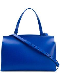 сумка на плечо с застежкой на кнопку Nico Giani