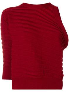 свитер с одним рукавом  Cédric Charlier