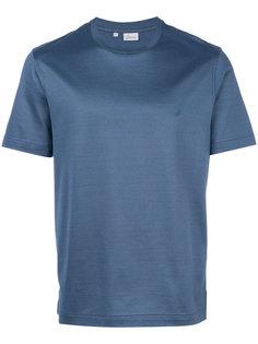 однотонная футболка Brioni