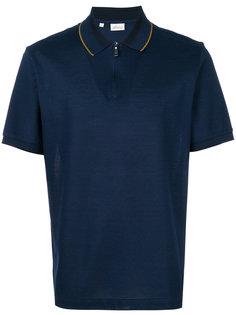 рубашка-поло с воротником на молнии Brioni