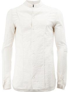 рубашка с воротником-стойкой Masnada