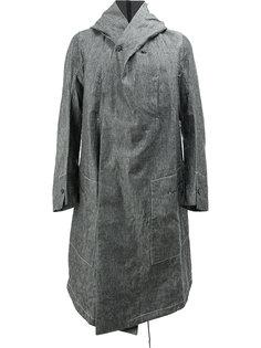 пальто с асимметричным передом Masnada