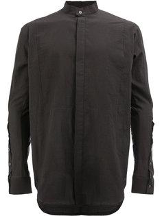 рубашка с потайной застежкой Masnada