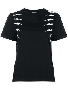 футболка Thunderbolt Neil Barrett