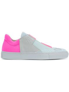 кроссовки с контрастным дизайном Mm6 Maison Margiela