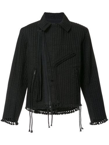 байкерская куртка со шнурками и кисточками Craig Green
