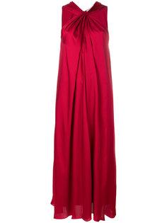 длинное платье с открытыми плечами Elizabeth And James