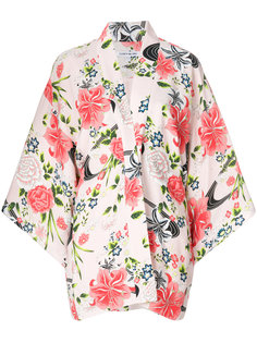 пиджак-кимоно с цветочным принтом Elizabeth And James