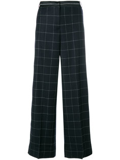 широкие брюки  с сетчатым принтом Elizabeth And James