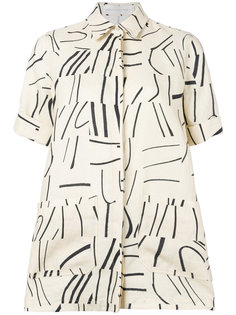 рубашка с накладными карманами Victoria Victoria Beckham