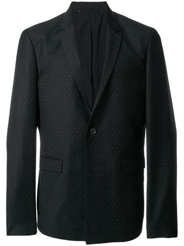 пиджак с мелким узором в горох Kris Van Assche