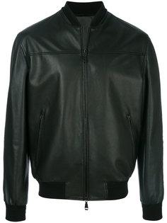 куртка-бомбер на молнии Brioni