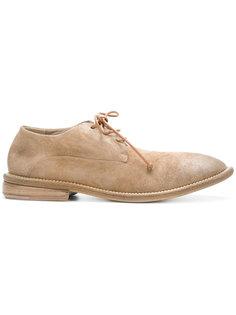 туфли на шнуровке с эффектом поношенности Marsèll