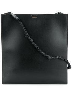 сумка на плечо с плетеным ремешком  Jil Sander