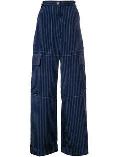 брюки карго в полоску Sonia By Sonia Rykiel