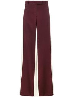 брюки палаццо дизайна колор-блок Valentino