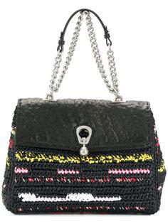 плетеная сумка на плечо Ermanno Scervino