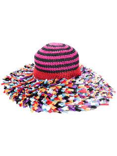 трикотажная пляжная шляпа Missoni