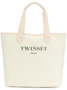 сумка-тоут с верхними ручками Twin-Set