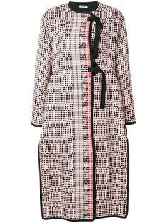 пальто с плетеным дизайном Jil Sander