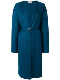 пальто с поясом Jil Sander