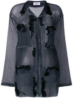 прозрачная рубашка с длинными рукавами Aviù