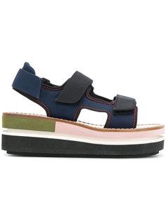 сандалии на платформе Marni