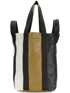 полосатая сумка-тоут Marni