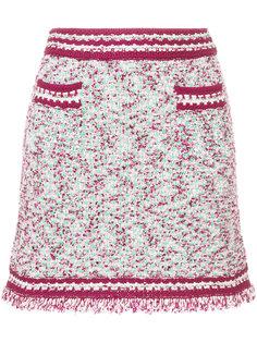 мини-юбка с контрастной окантовкой M Missoni