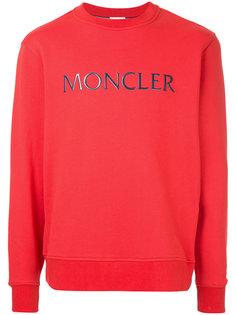 толстовка с логотипом Moncler