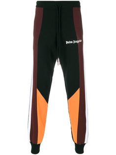 спортивные брюки дизайна колор-блок Palm Angels