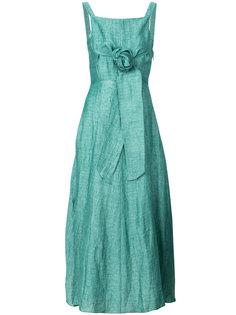 легкое платье с поясом  Masscob