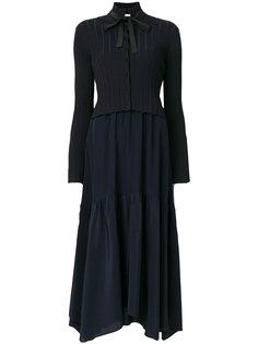 платье-миди с высоким воротником с завязкой на бант Dorothee Schumacher