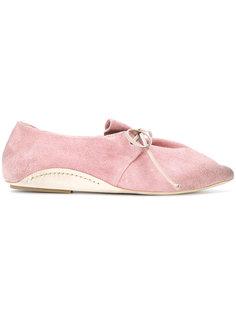 туфли на шнуровке с заостренным носком Marsèll