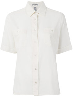 classic short sleeved shirt Céline Vintage