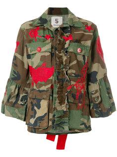 камуфляжная куртка с нашивками и бантами 5 Progress